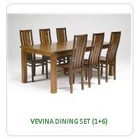 VEVINA DINING SET (1+6)